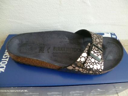 Birkenstock Madrid Pantolette Pantoletten Sandalen Stones Black 1008804 NEU!
