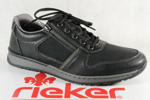 Rieker Sneakers Schnürschuhe Sneaker Slipper schwarz B5124 NEU!!
