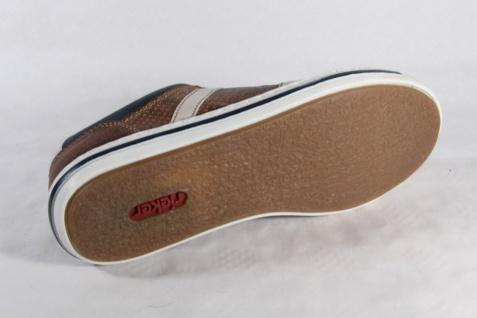 Rieker Herren Schnürschuh, braun/blau Sneaker, Halbschuh Kunstleder braun/blau Schnürschuh, NEU Beliebte Schuhe b77a45