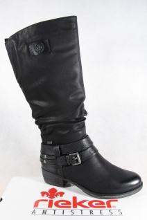 Rieker-Tex Damen Stiefel Stiefeletten schwarz warm gefüttert 93158 NEU