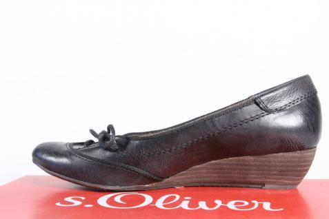 S.Oliver schwarz Ballerina Slipper Halbschuhe Pumps schwarz S.Oliver NEU!! 733aed