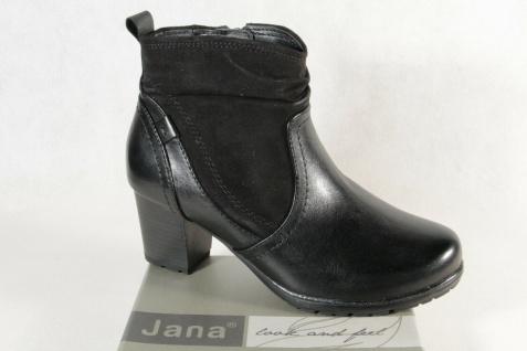 Jana Stiefelette Stiefeletten Stiefel Schnürstiefel Boots Leder 25313 NEU!
