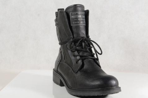 Mustang Schnürstiefel Stiefel Stiefeletten Schnürstiefel Mustang Stiefel navy 1264 NEU! 3913b0