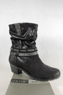 Jana Stiefel Stiefeletten Stiefelette Boots Winterstiefel schwarz 25303 NEU
