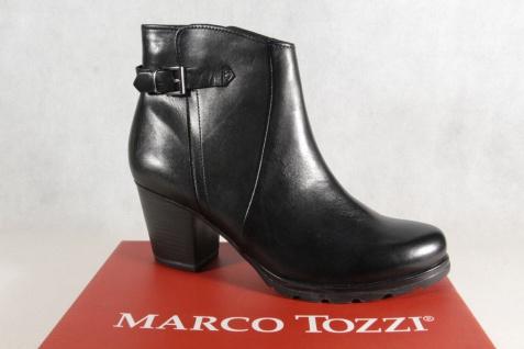 Marco Tozzi Stiefelette Reißverschluß, 25460 weiches Fußbett, gefüttert 25460 Reißverschluß, NEU!! ee5969