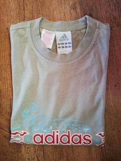 Adidas T-Shirts Set Jungen schwarz beige grün/khaki Angebot Kinder Sport NEU - Vorschau 4