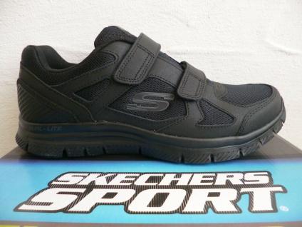 Skechers Sneakers Sneaker Sportschuhe Halbschuhe Slipper schwarz 58365 NEU!