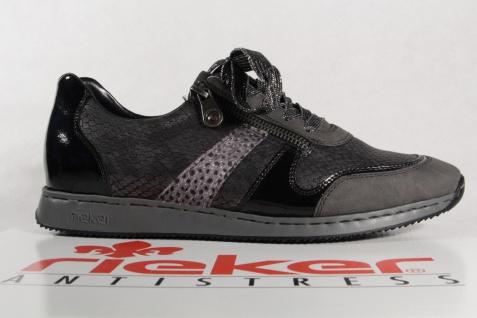 Rieker grau, Damen Schnürschuhe, Halbschuhe, Sneakers, grau, Rieker 56001 NEU! dbe5c2