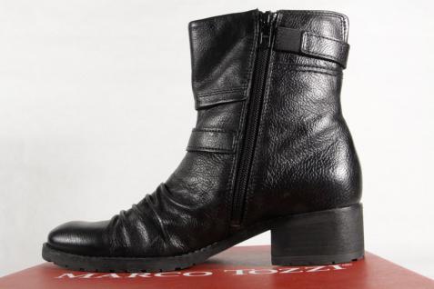 Marco Tozzi 25331 Damen Stiefel NEU! Stiefeletten Stiefel Echtleder schwarz NEU! Stiefel 30e8a3