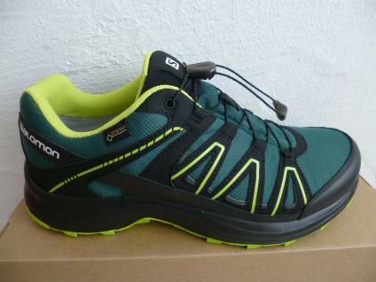 Salomon Sportschuhe Halbschuhe Sneakers XA CENTOR wasserdicht grün Neu!!!