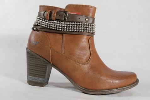 Mustang Damen Stiefel Stiefeletten Boots, braun, braun, braun, leicht gefüttert NEU Beliebte Schuhe e91254