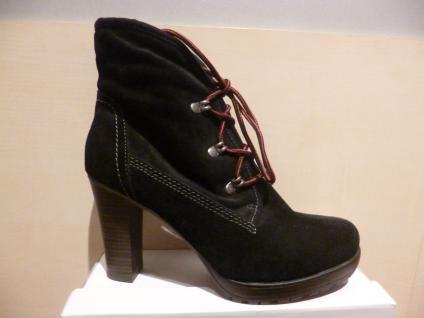 Damen Stiefel Stiefeletten Boots Winterstiefel Schnürstiefel schwarz Leder Leder schwarz NEU!! 4e5334