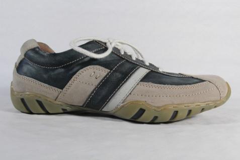 Rohde Schnürschuhe Halbschuhe NEU! Sneaker blau/beige NEU! Halbschuhe Beliebte Schuhe b1e495