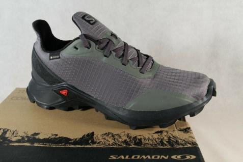 Salomon Alphacross GTX Sportschuhe Halbschuhe Sneakers grau/ oliv Neu!!!