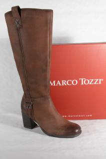 Marco Stiefeletten Tozzi Damen Stiefel Winterstiefel Stiefeletten Marco braun Leder 25541 Neu!!! b29920