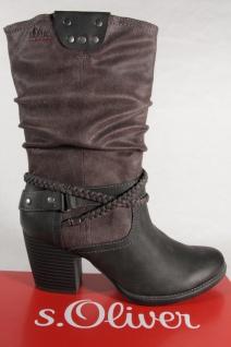 S.Oliver Damen Stiefel, Stiefelette, Stiefelette, Stiefelette, Boots grau 25309 NEU! Beliebte Schuhe 030155