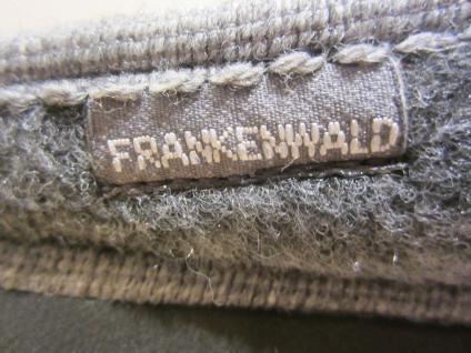 Frankenwald Herren Pantoffel, echt Filz, Schurwollfutter, grau, Fußbett NEU!!