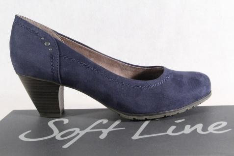 Soft H Line by Jana Damen Pumps Slipper blau Weite H Soft NEU! be0adb