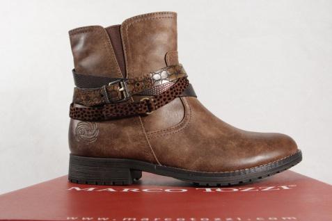 Marco Stiefel, Tozzi 46402 Damen Stiefel, Marco Stiefelette, Stiefel braun NEU! b51924
