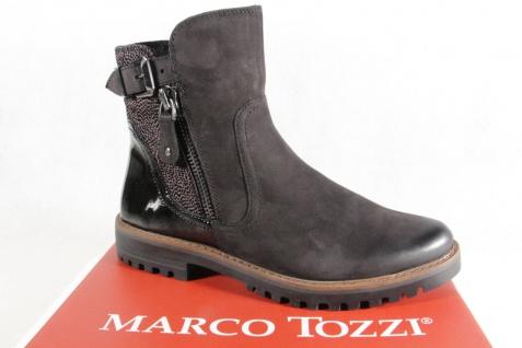 Marco Tozzi 25450 Stiefelette Stiefel, schwarz, Leder 25450 Tozzi NEU!! 232e42