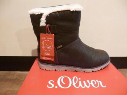 S.Oliver Damen Stiefel, Stiefelette, Stiefel NEU! Tex braun mokka 26443 NEU! Stiefel fa3e97