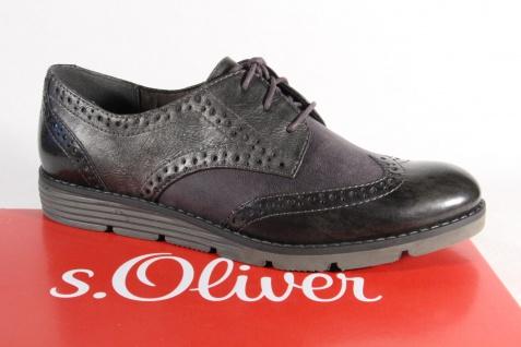 S.Oliver Sneaker Damen Schnürschuh Sneaker S.Oliver Halbschuh grau 23623 NEU! 9b27c2