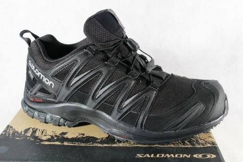 Salomon Sportschuhe Halbschuhe Sneakers XA PRO 3D schwarz Neu!!!