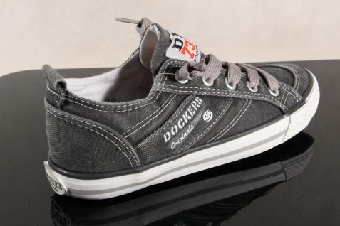 Dockers Slipper NEU Sneaker Halbschuh Schnürschuh grau NEU Slipper 4f7815