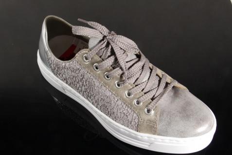 Rieker Damen L8514 Schnürschuhe, Halbschuhe, Sneakers, grau, L8514 Damen NEU! f74186