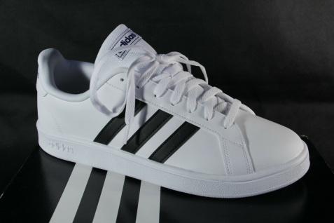 Adidas Sneakers Grand Court Base Sportschuhe Sneaker Halbschuhe weiß NEU!