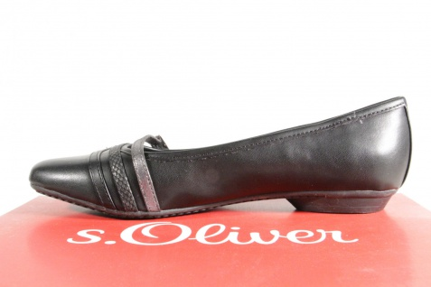 S.Oliver Slipper Ballerina Slipper S.Oliver Sneakers Pumps schwarz NEU!! f552ce