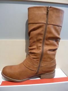 Rieker braun Damen Stiefel Stiefeletten Winterstiefel Boots braun Rieker Reißverschluß NEU Beliebte Schuhe 34c259