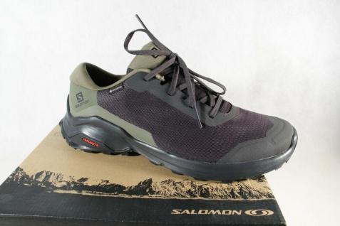 Salomon X Reval GTX Sportschuhe Halbschuhe Sneakers schwarz Neu!!!