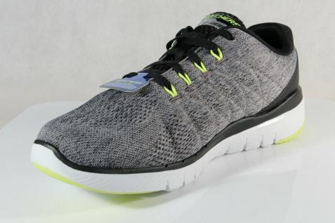 Skechers Herren Schnürschuhe Sneakers Sportschuhe grau NEU! - Vorschau 5