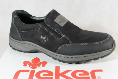 Rieker Slipper Schnürschuhe Sneaker Halbschuhe schwarz 03354 NEU!!