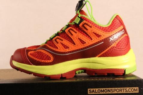 Salomon Sportschuhe rot/grün/gelb Laufschuhe XA PRO 2 rot/grün/gelb Sportschuhe Neu! 4ec4ae