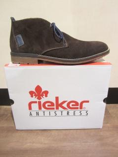 Rieker Schnürstiefel, braun, Leder, leicht gefüttert, F1301 Schuhe NEU Beliebte Schuhe F1301 09446f