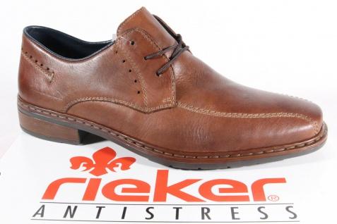 Rieker NEU! Herren Schnürschuhe, Halbschuhe Sneakers braun Leder NEU! Rieker Beliebte Schuhe c941f3