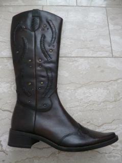 on sale 36351 7260d Sally O'Hara Damen Stiefel Winterstiefel Stiefeletten braun Leder 25712  Neu!!!