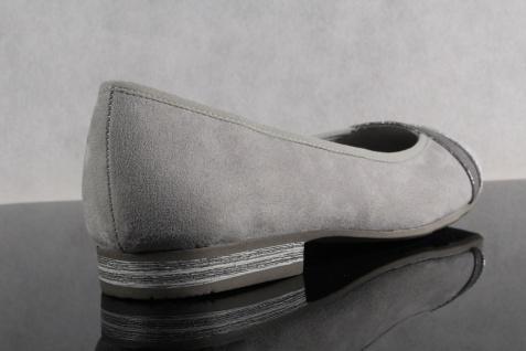 Soft Line grau by Jana Damen Ballerina Pumps Slipper grau Line Weite H NEU! 460188
