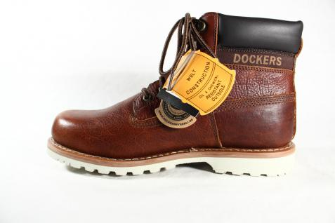 Dockers braun Stiefel Schnürstiefel Stiefel Winterstiefel braun Dockers Leder 331132 NEU cd961d