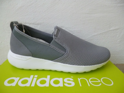 Adidas Slipper Sportschuhe Sneakers LITE RACER Sbeaker grau NEU!