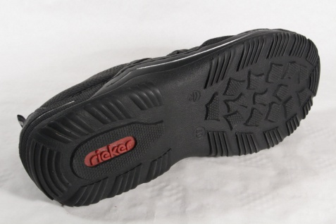 Rieker Halbschuhe, Damen Slipper Halbschuhe, Rieker Sneakers, schwarz L0551 NEU! 6e74be
