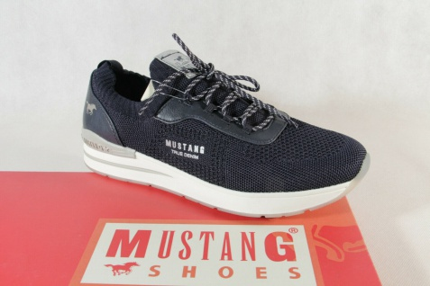 Mustang Slipper Sneakers Sportschuhe Halbschuhe blau 1352 NEU