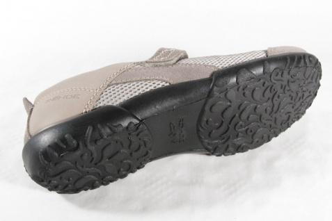 Rohde Slipper mit Wechselußbett beige für Einlagen geeignet, grau/ beige Wechselußbett NEU 683e85