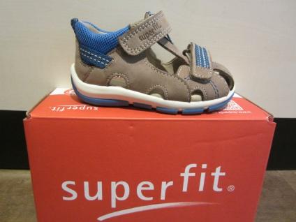 Superfit Lauflern-Stiefel Schuh Sandale braun/blau KVLederfußbett Neu !!! - Vorschau 4