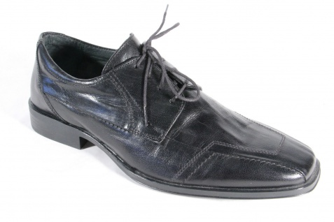 Franco Buzzato Herren Schnürschuh, Halbschuh NEU! Sneaker schwarz, NEU! Halbschuh ad7d4b