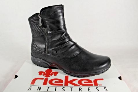 Rieker Z4663 Tex wasserdicht Damen Stiefel Stiefelette schwarz wasserdicht Tex NEU 83603d