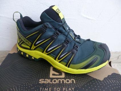 Salomon Sportschuhe Halbschuhe Sneakers XA PRO 3D wasserdicht grün Neu!!!