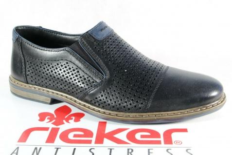 Rieker Slipper Halbschuhe Sneakers schwarz 13496 Echtleder NEU!!